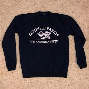 The Office Schrute Farms Crewneck Sweatshirt